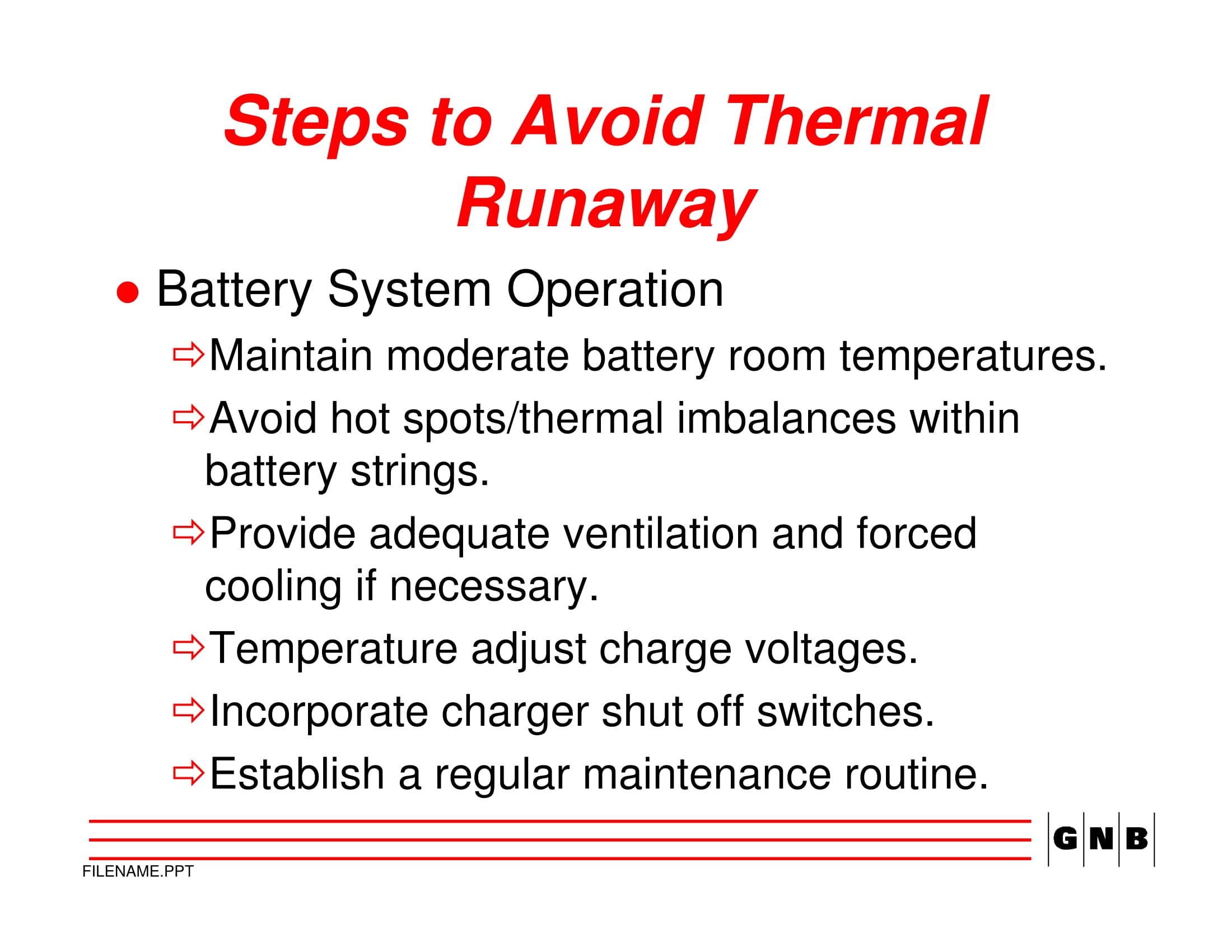 Avoid Sprinter Battery Thermal Runaway 1